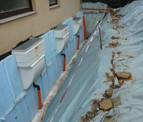 Drainage Bauleitung Trawny