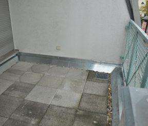 Nach Sanierung Trawny Balkon
